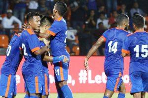 Happy with India's FIFA ranking leap: IM Vijayan