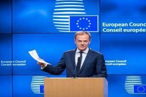 EU's Tusk calls for 'mutual respect' amid election spat with UK