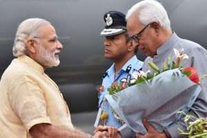 J-K Governor Vohra discusses security issues with PM Modi