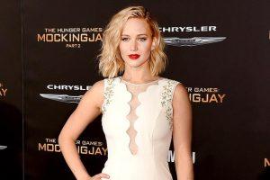 Jennifer Lawrence flaunts new hairstyle
