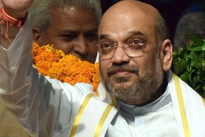 Amit Shah visits homes of fishermen, folk singer in Puducherry