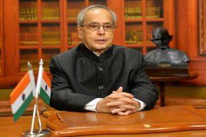 President Pranab Mukherjee gives nod to order on GST in J-K