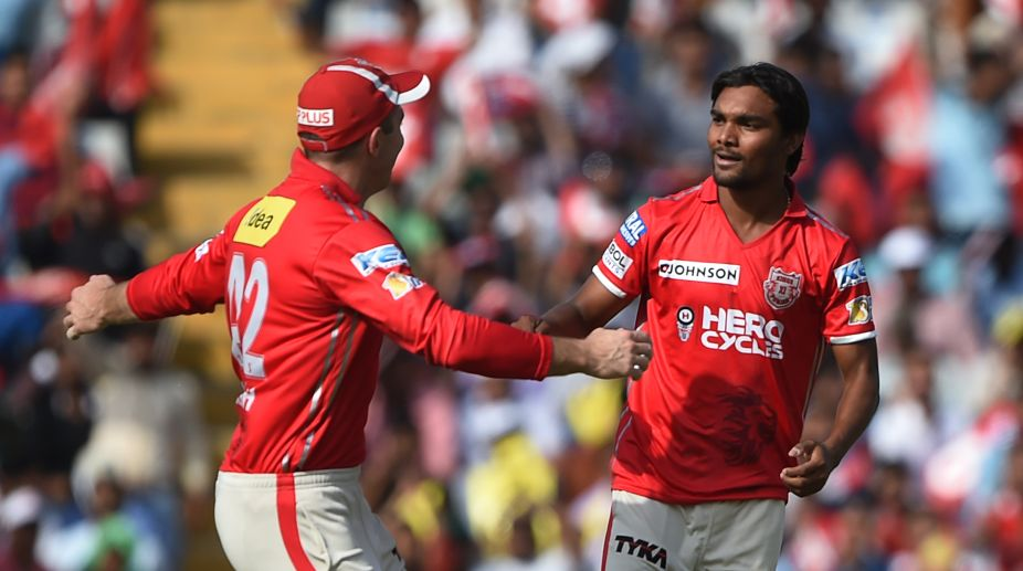 Sandeep Sharma dismisses Virat Kohli, Chris Gayle, AB de Villiers to create history