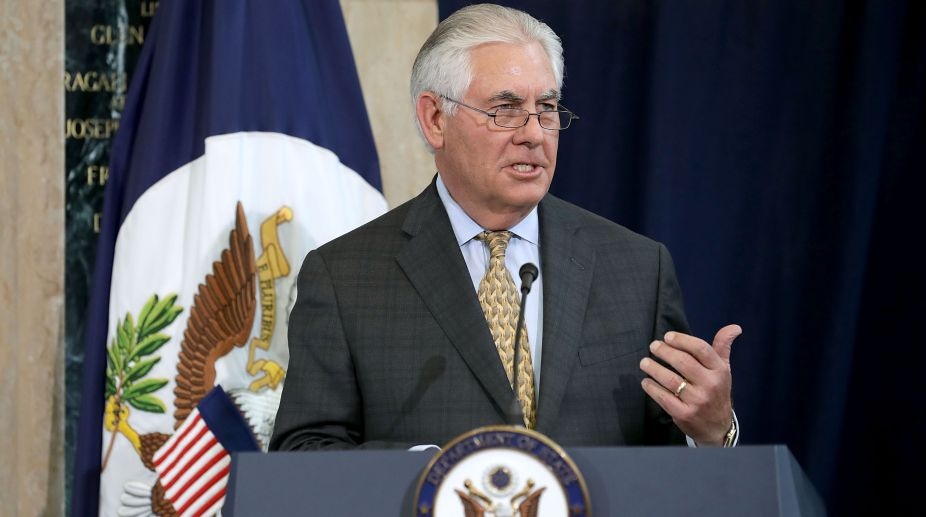 Russia probe has no impact on my work: Rex Tillerson