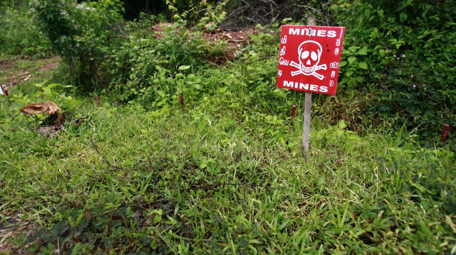 landmines, landmines seized, Jharkhand, Security forces