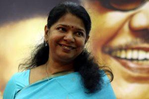Kanimozhi invites Sonia for Karunanidhi's birthday celebrations