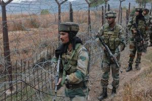 Three soldiers injured in landmine explosion near LoC