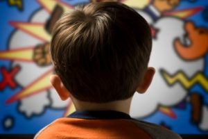 Let kids watch cartoons during radiotherapy