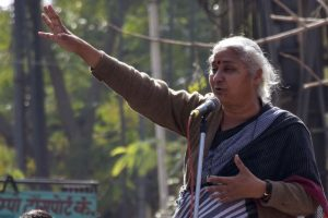 Medha Patkar among 500 arrested, released in Bhopal