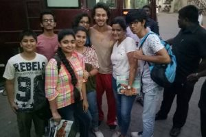 How Tiger Shroff charmed the girls!
