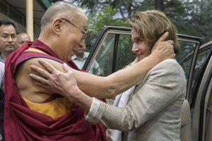 Pelosi-led US delegation reaches Dharamshala to meet Dalai Lama