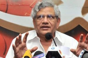Yechury likens BJP with Kauravas, says RSS controls it like 'Sakuni'