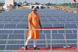 Modi calls for setting up model solar cities