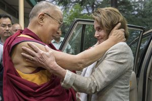 Pelosi reaffirms US support to Tibet, flays China
