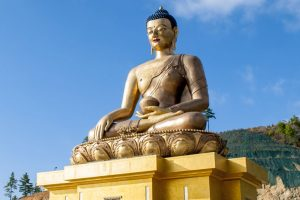 On Shanti Path, Buddha's message of peace