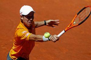Japan's Kei Nishikori defeats Diego Schwartzman in Madrid Open