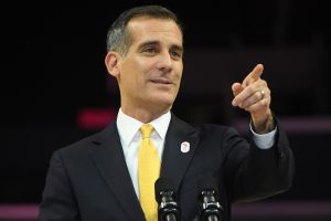 'Athletes at forefront of LA 2024 plan'