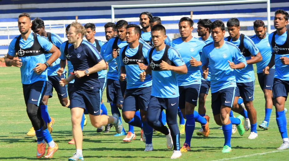 Indian football team retains 100th rank in FIFA rankings - The Statesman