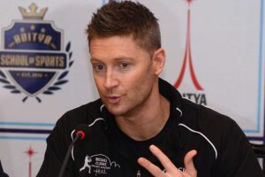 Michael Clarke sees India, Australia in Champions Trophy final