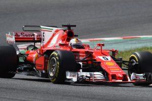 Spanish Grand Prix: Sebastian Vettel's Ferrari suffers engine leak
