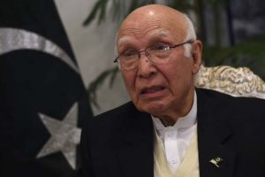 Pakistan wants solution to all issues with India, says Sartaj Aziz