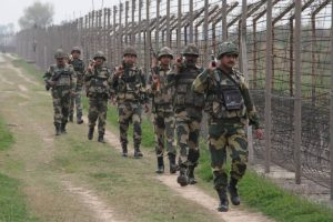 Three militants killed in Kashmir infiltration bid
