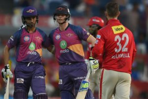 Rising Pune Supergiant beat Kings XI Punjab to seal IPL playoff spot