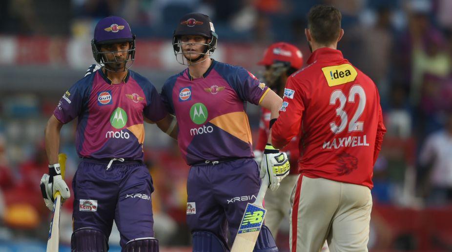 Rising Pune Supergiant beat Kings XI Punjab to seal IPL playoff spot