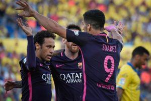 La Liga: Neymar hat-trick powers Barcelona past Las Palmas
