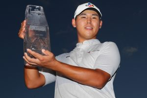 Kim Si-woo becomes youngest ever winner of Players Championship