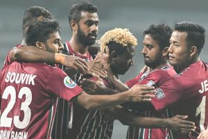 Under-pressure Mohun Bagan keen to bounce back against Chennai