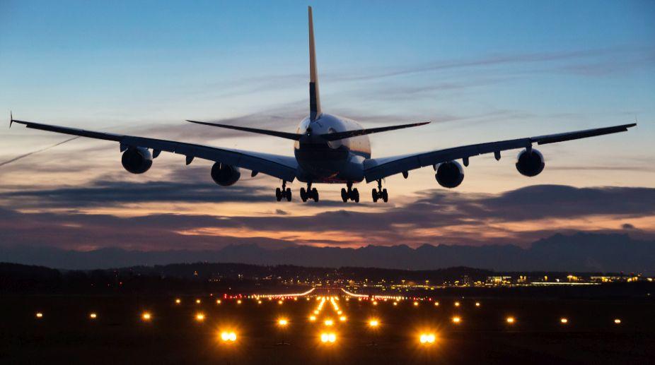 emergency landing, Russian aircraft, IGI airport, engine failure, Delhi Airport,