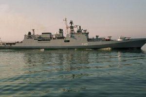 3 Indian Navy warships in Jeddah