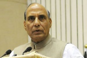Rajnath chairs security review meeting of five CMs