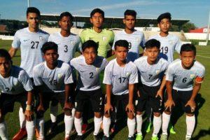 India U-17 football team draw with FC Saint Leu