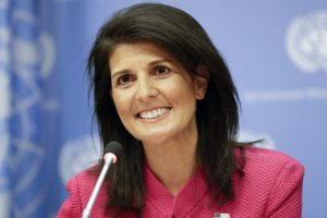 Nikki Haley slams rumours about affair with Trump