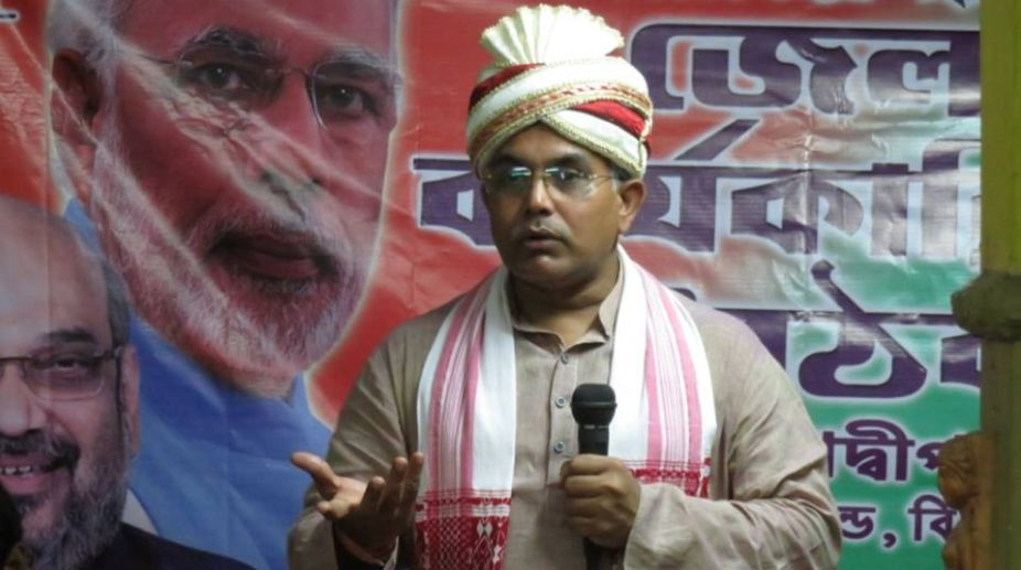 Bharati Ghosh, BJP Bengal, Dilip Ghosh, CID, criminal conspiracy
