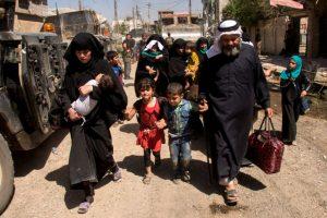 Mosul exodus has reached unprecedented level: UN