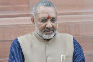 Lalu Prasad is blackmailer, Nitish kumar a Dhritarashtra: Griraj Singh