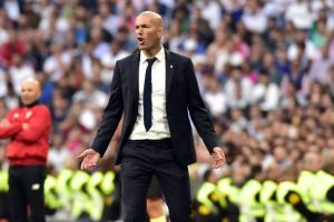 La Liga: Zidane calm with Real Madrid 1 point away from title
