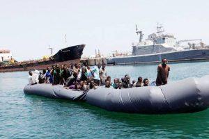 2,300 migrants saved in Mediterranean