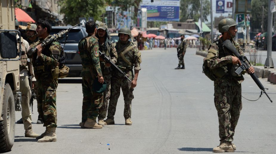 Taliban assault Afghan police patrol in Kandahar, killing 5
