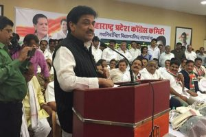 Congress slams Fadnavis government over hike in petrol surcharge