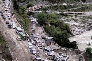 Thousands stranded near Badrinath after landslide