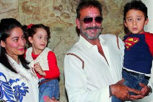 That's how Sanjay Dutt treated his twins!