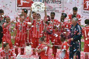 Bayern lift title, Dortmund defend 3rd place in German Bundesliga