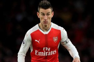 Laurent Koscielny sent off against Everton, to miss FA Cup final