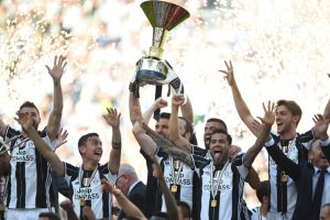Dominant Juventus clinch Serie A title with Crotone win