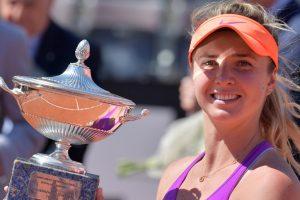 Italian Open: Elina Svitolina shocks Simona Halep to lift title