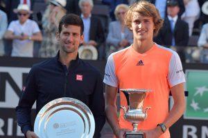 Alexander Zverev stuns Novak Djokovic in Rome Masters final
